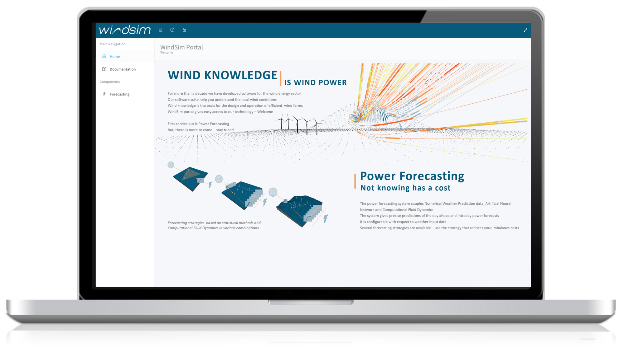 windsim power forecasting portal login